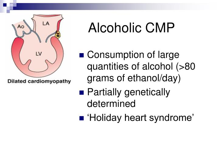 Alcoholic CMP