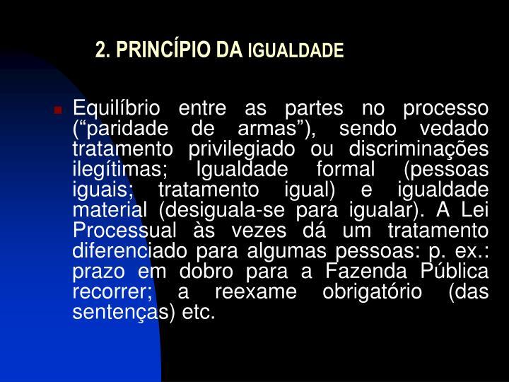 2. PRINCÍPIO DA