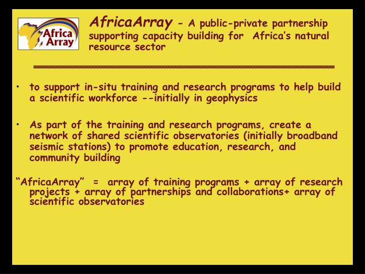 AfricaArray