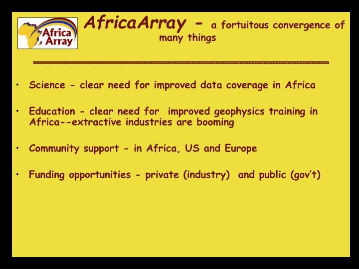 AfricaArray -