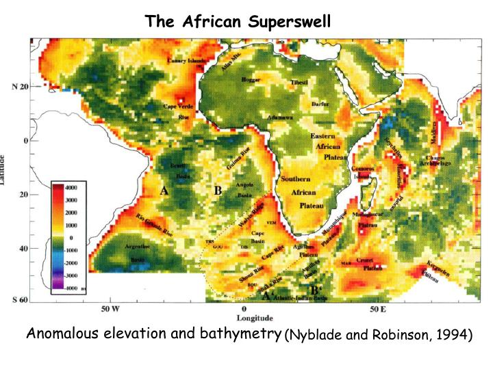 The African Superswell
