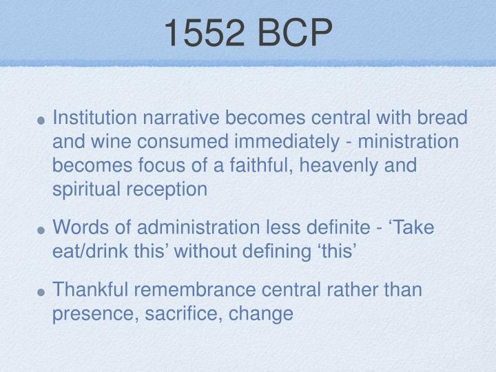 1552 BCP