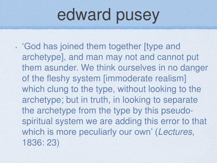edward pusey