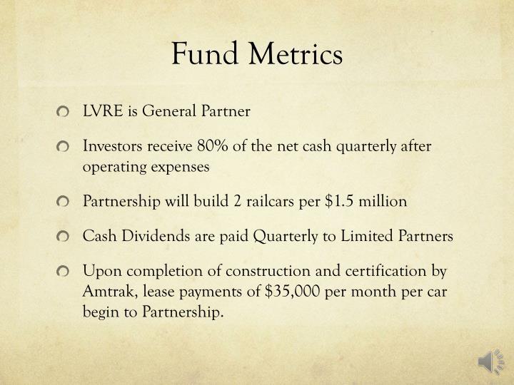 Fund Metrics