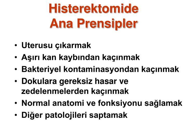 Histerektomide