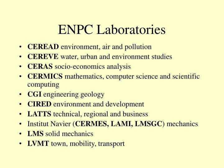 ENPC Laboratories