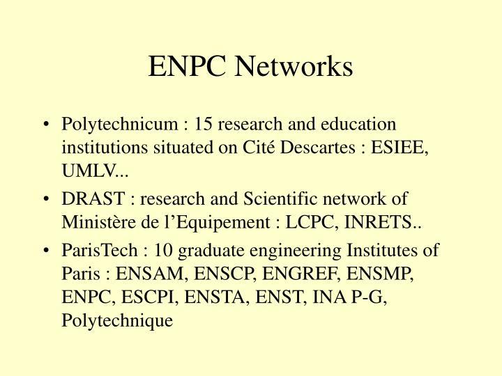 ENPC Networks