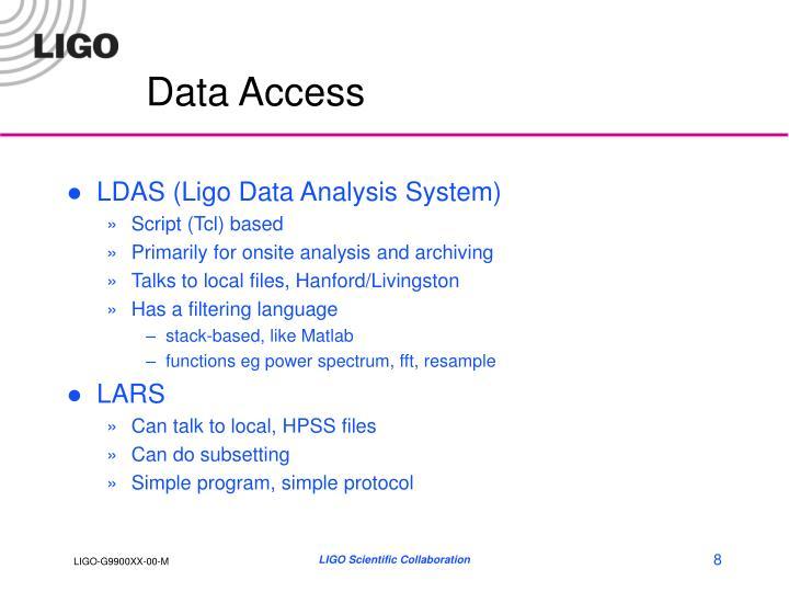 Data Access