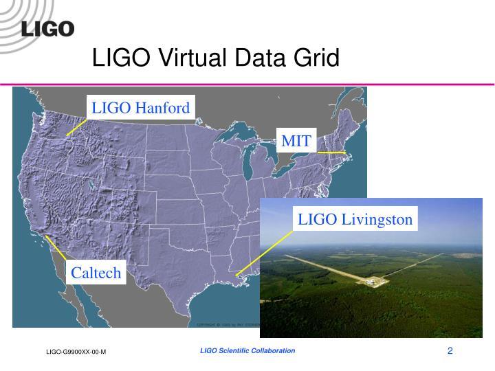LIGO Virtual Data Grid
