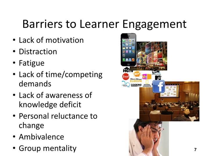 Barriers to Learner Engagement