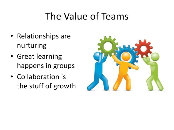 The Value of Teams