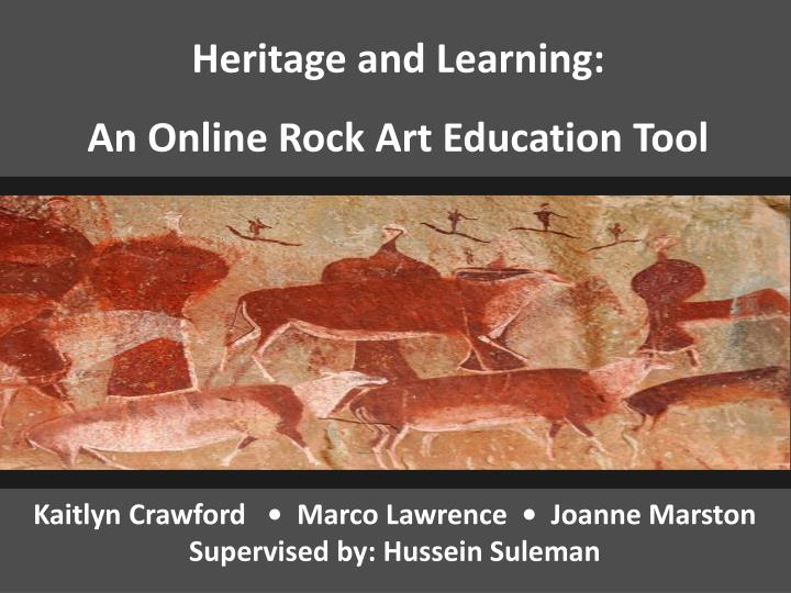 Heritage and Learning: