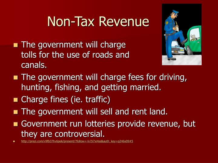 Non-Tax Revenue