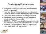 challenging environments