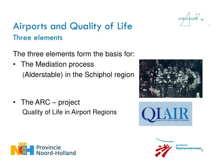 Airports and Quality of Life
