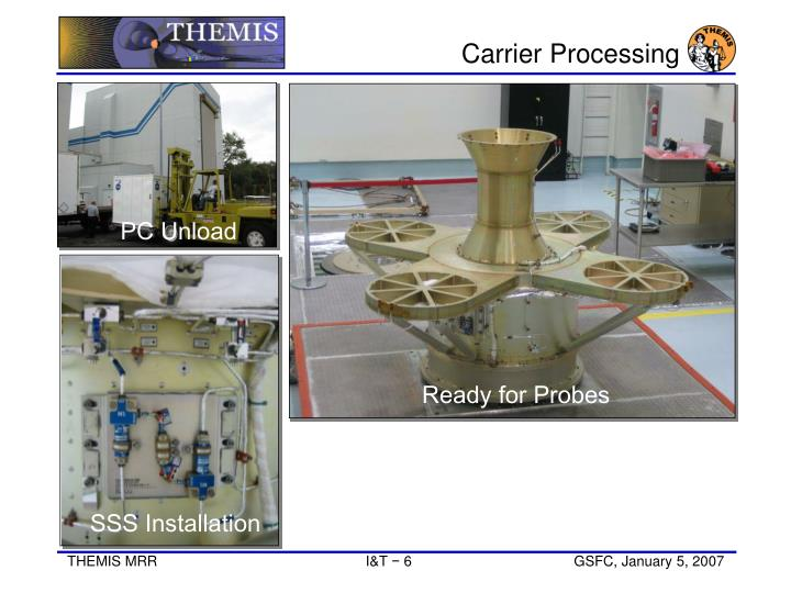 Carrier Processing