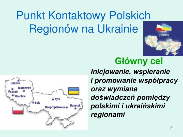 Punkt Kontaktowy Polskich Regionw na Ukrainie
