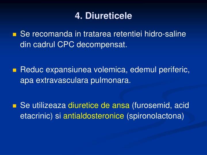 4. Diureticele