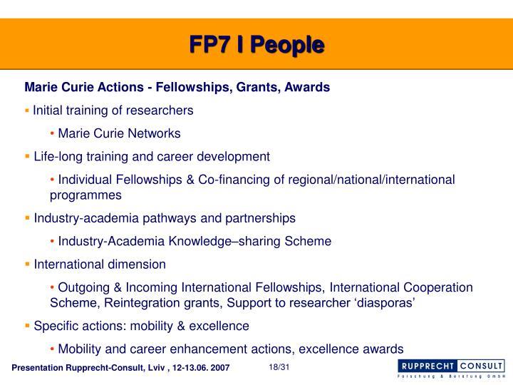 FP7 I People