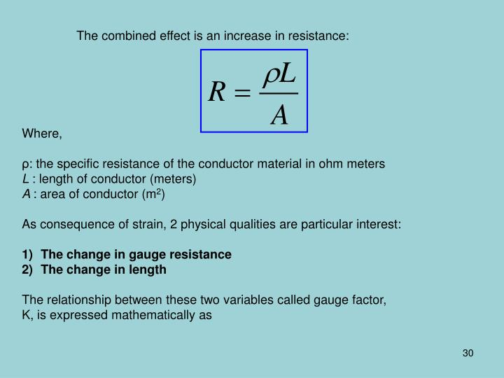 The combined effect is an increase in resistance: