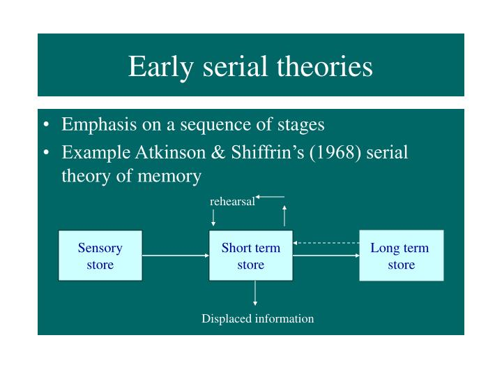 Early serial theories