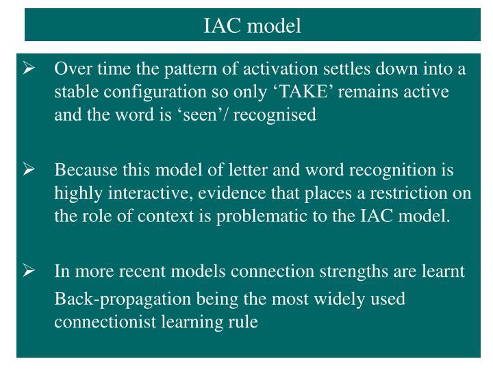 IAC model