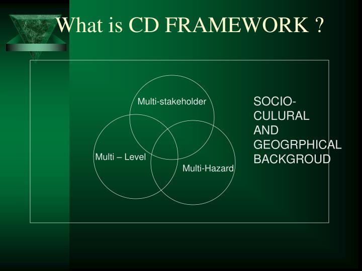 What is CD FRAMEWORK ?