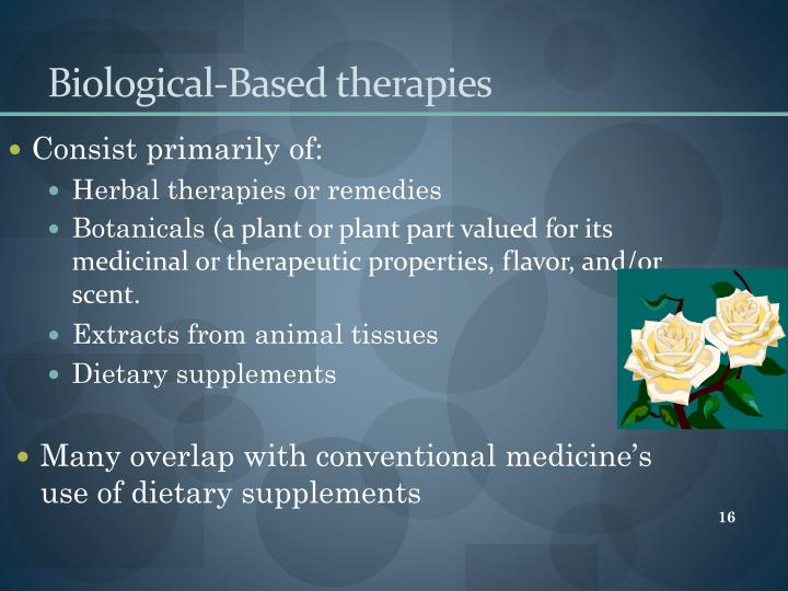 Biological-Based therapies