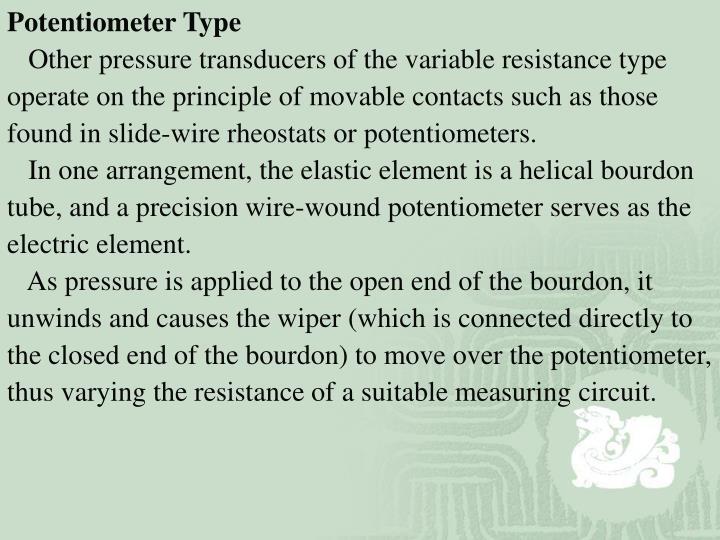 Potentiometer Type