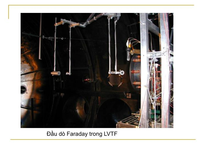 Đầu dò Faraday trong LVTF