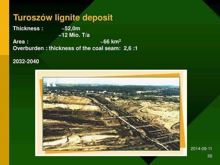 Turoszów lignite deposit