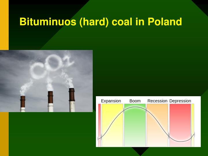 Bituminuos (hard) coal in Poland
