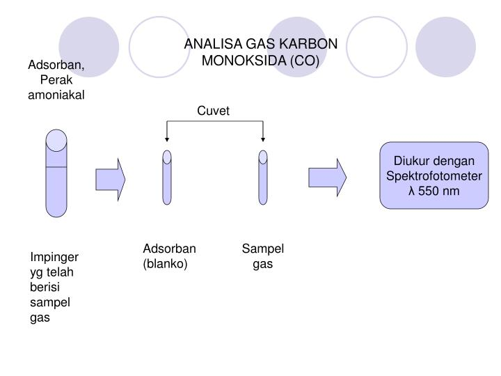 ANALISA GAS KARBON MONOKSIDA (CO)