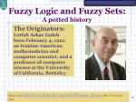 fuzzy logic and fuzzy sets a potted history3