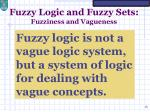 fuzzy logic and fuzzy sets fuzziness and vagueness3