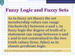 fuzzy logic and fuzzy sets3