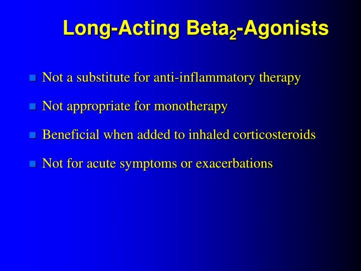 Long-Acting Beta