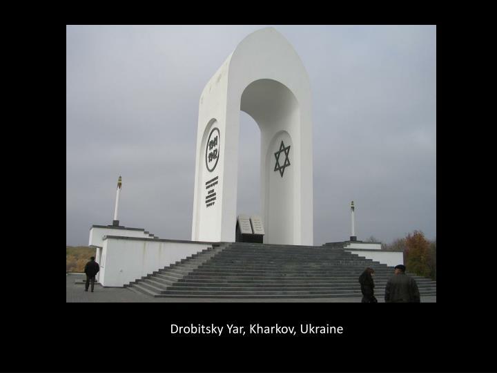 Drobitsky Yar, Kharkov, Ukraine