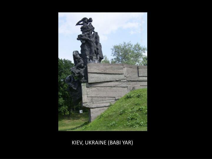 KIEV, UKRAINE (BABI YAR)