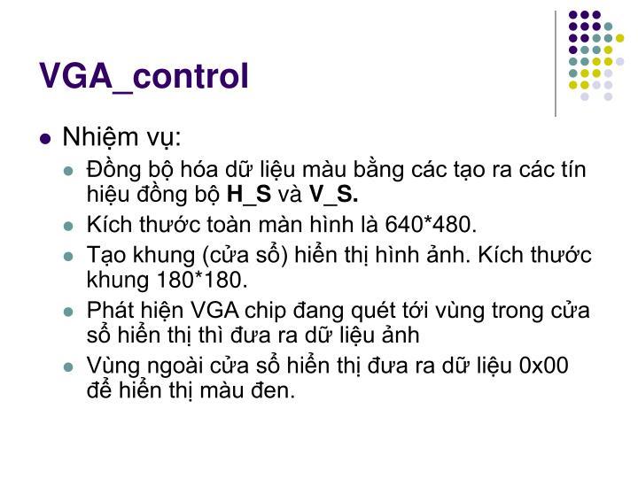 VGA_control