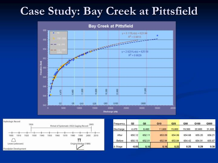 Case Study: Bay Creek at Pittsfield
