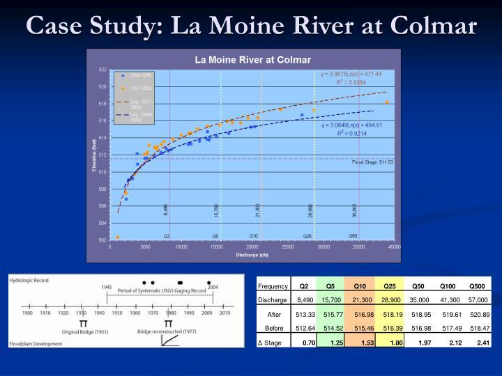 Case Study: La Moine River at Colmar