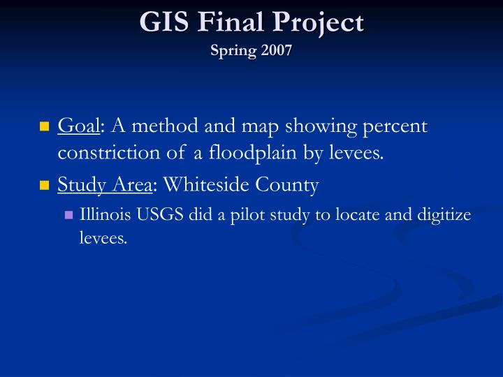 GIS Final Project