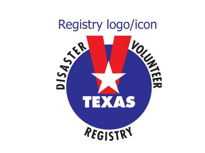 Registry logo/icon