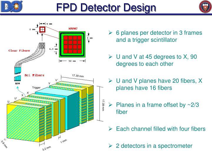 FPD Detector Design