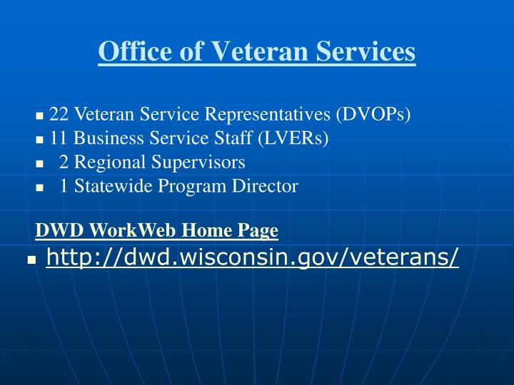 Office of Veteran Services