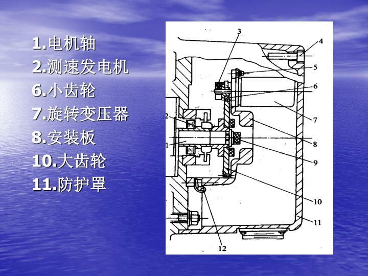 1.电机轴