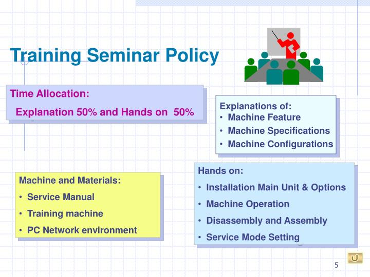 Training Seminar Policy