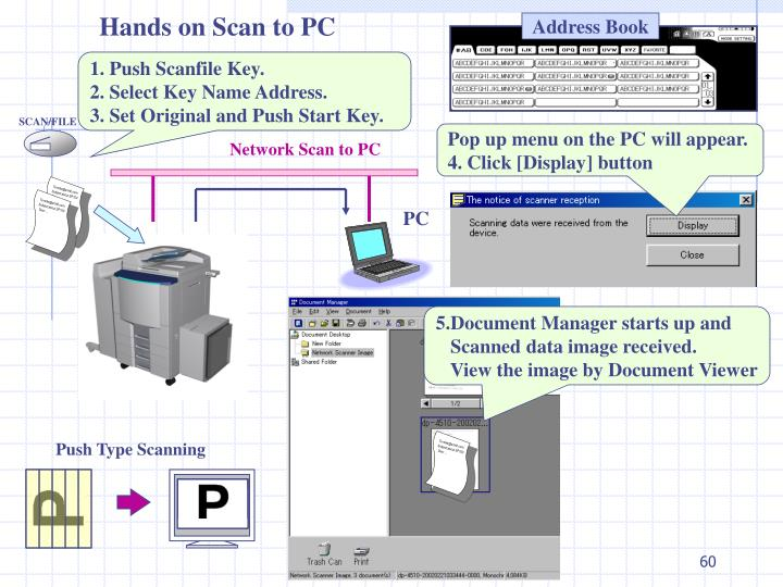 Hands on Scan to PC