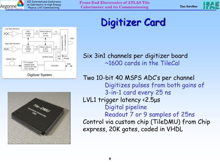 Digitizer Card